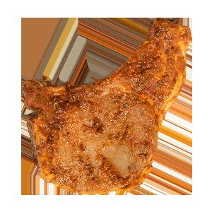 Côte de porc à la texane